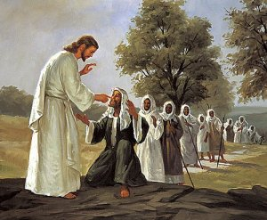 jesus heals all