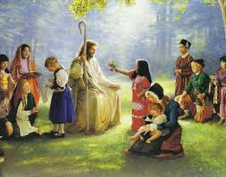 jesus with childresn